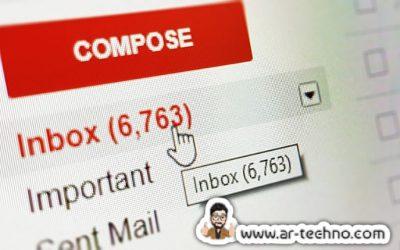 نفاد مساحة تخزين بريدك الالكتروني Gmail؟